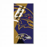 Baltimore Ravens Puzzle Beach Towel