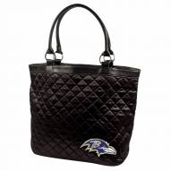 Baltimore Ravens Quilted Tote Bag