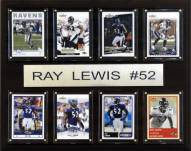 "Baltimore Ravens Ray Lewis 12"" x 15"" Card Plaque"
