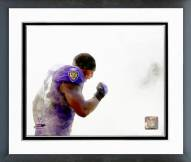 Baltimore Ravens Ray Lewis 2006 Action Framed Photo