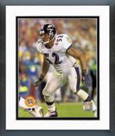 Baltimore Ravens Ray Lewis Super Bowl XXXV Action Framed Photo