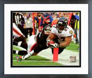 Baltimore Ravens Ray Rice 2008 Action Framed Photo