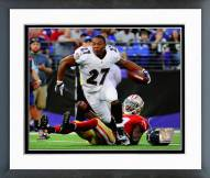 Baltimore Ravens Ray Rice 2014 Action Framed Photo