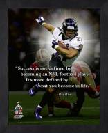 Baltimore Ravens Ray Rice Framed Pro Quote