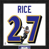 Baltimore Ravens Ray Rice Super Bowl Uniframe Framed Jersey Photo