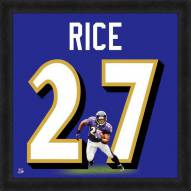Baltimore Ravens Ray Rice Uniframe Framed Jersey Photo