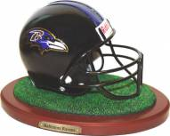 Baltimore Ravens Replica Football Helmet Figurine