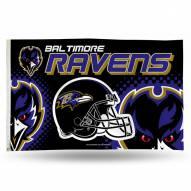 Baltimore Ravens 3' x 5' Banner Flag