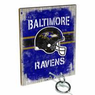 Baltimore Ravens Ring Toss Game