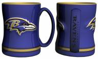 Baltimore Ravens Sculpted Relief Coffee Mug