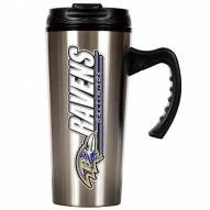 Baltimore Ravens Slim Stainless Steel Travel Mug