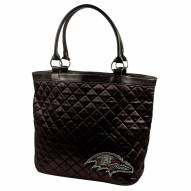 Baltimore Ravens Sport Noir Quilted Tote