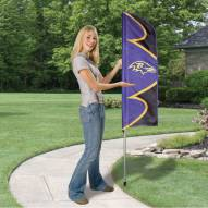 Baltimore Ravens Swooper Flag