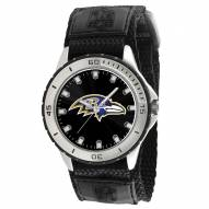 Baltimore Ravens Veteran Velcro Mens Watch