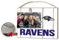 Baltimore Ravens Weathered Logo Photo Frame