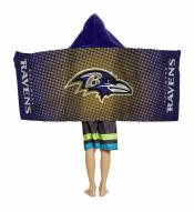 Baltimore Ravens Youth Hooded Towel