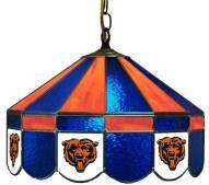 "Chicago Bears NFL Team 16"" Diameter Stained Glass Pub Light"