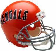 Riddell Cincinnati Bengals 1968-79 Deluxe Replica Throwback NFL Football Helmet