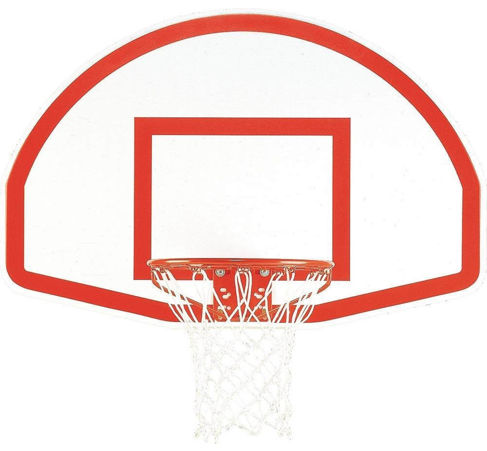 "Bison 35.5"" x 54"" Lifeguard White Aluminum Basketball ..."
