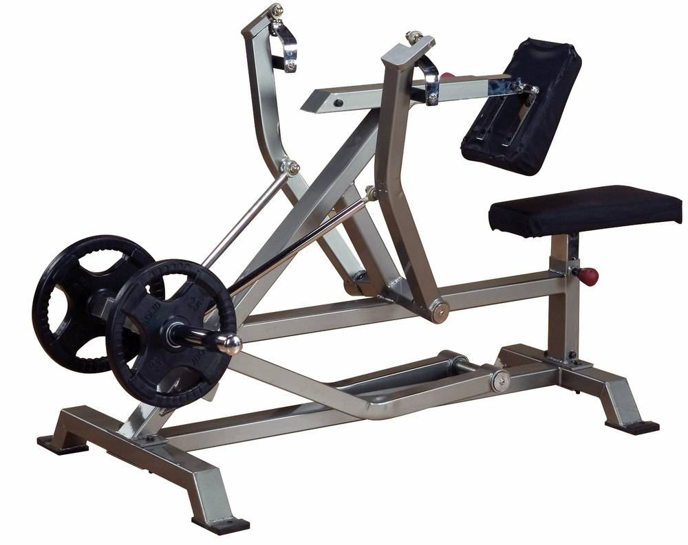solid seated row machine