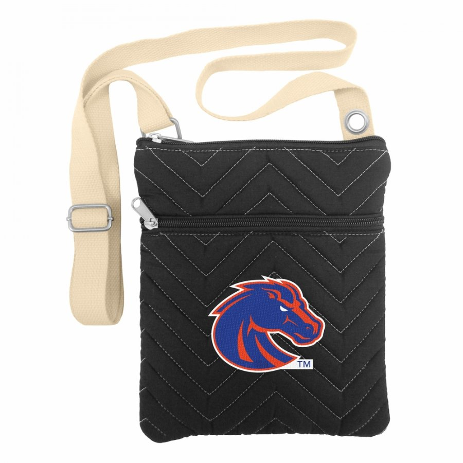Boise State Broncos Chevron Stitch Crossbody Bag