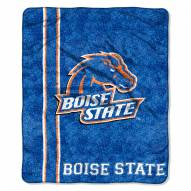 Boise State Broncos Jersey Sherpa Blanket