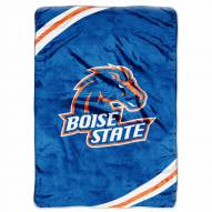 Boise State Broncos Rebel Raschel Throw Blanket