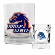 Boise State Broncos Rocks Glass & Shot Glass Set