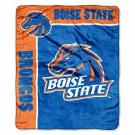 Boise State Broncos School Spirit Raschel Throw Blanket