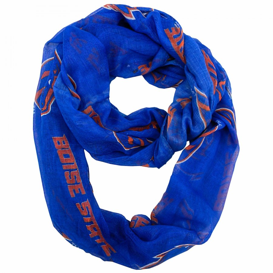 Boise State Broncos Sheer Infinity Scarf