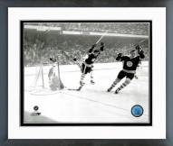 Boston Bruins Bobby Orr 1970 Action Framed Photo