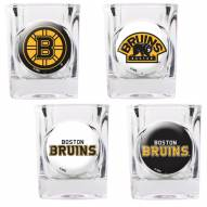 Boston Bruins Collector's Shot Glass Set