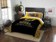 Boston Bruins Draft Full/Queen Comforter Set