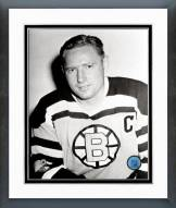 Boston Bruins Fern Flaman Posed Framed Photo