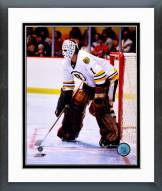 Boston Bruins Gilles Gilbert Action Framed Photo
