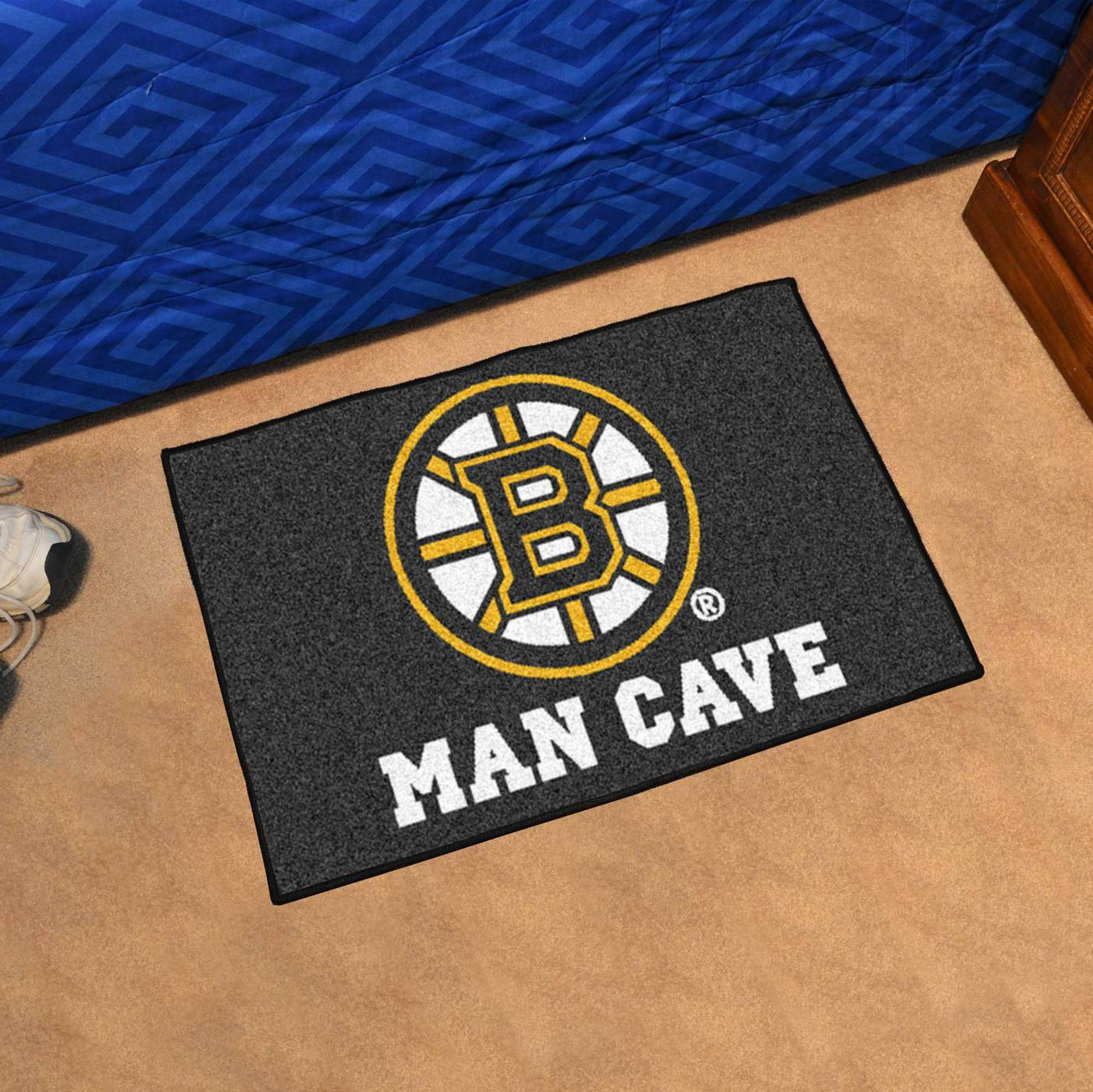 One Is Your Favorite Sports Team And The Other Man Cave It S Time To Mark Territory With Boston Bruins