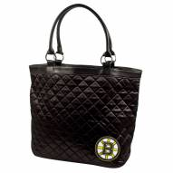 Boston Bruins Quilted Tote Bag