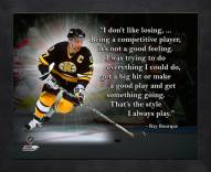 Boston Bruins Ray Bourque Framed Pro Quote