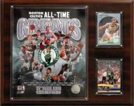 "Boston Celtics 12"" x 15"" All-Time Great Photo Plaque"