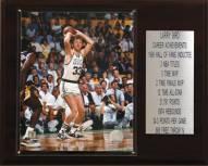 "Boston Celtics 12"" x 15"" Larry Bird Career Stat Plaque"