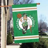 Boston Celtics Appliqué 2-Sided Banner Flag