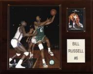 "Boston Celtics Bill Russell 12"" x 15"" Player Plaque"