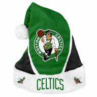 Boston Celtics Colorblock Santa Hat