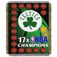 Boston Celtics Commemorative Champs Throw Blanket
