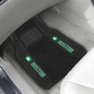 Boston Celtics Deluxe Car Floor Mat Set