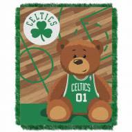 Boston Celtics Half Court Baby Blanket
