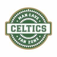 Boston Celtics Man Cave Fan Zone Wood Sign