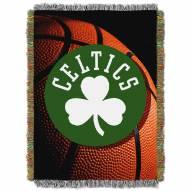 Boston Celtics Photo Real Throw Blanket