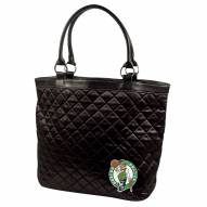 Boston Celtics Quilted Tote Bag