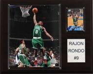 "Boston Celtics Rajon Rondo 12"" x 15"" Player Plaque"